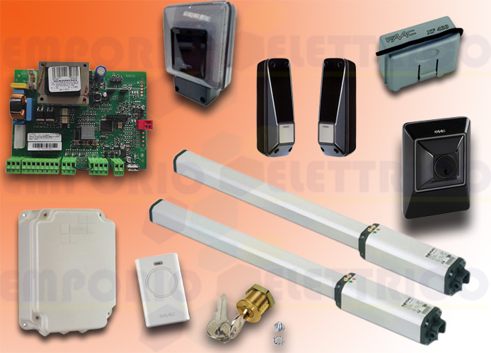 faac Automation Kit 230v ac leader kit green 105633445