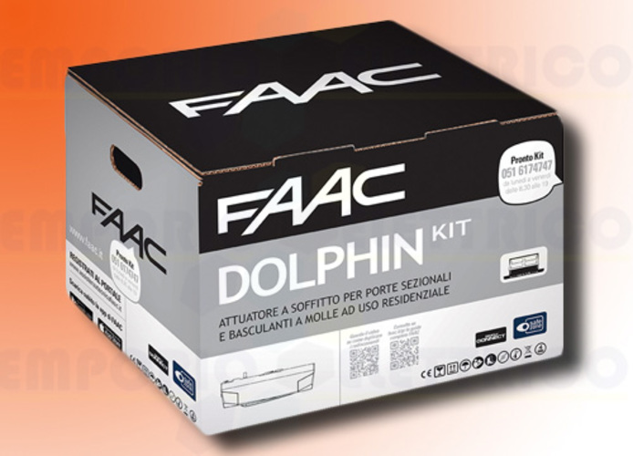 faac automation kit dolphin 24v dc dolphin kit safe 10566544
