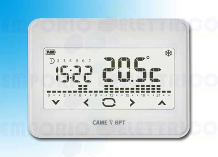 came Touchscreen Uhrenthermostat Wandmontage th/550 wh 845aa-0010