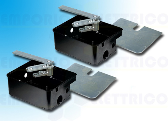 came kit 2 x steel foundation box frog-cfn kit 001u1985fr u1985fr