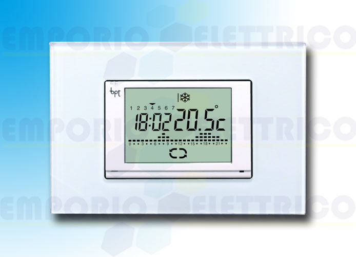 came Touchscreen Uhrenthermostat Unterputzmontage th/600 230 69400290