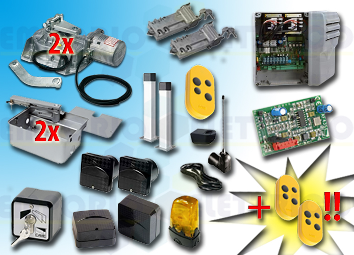 came kit automation 001frog-a24e frog-a24e 24v type 4D